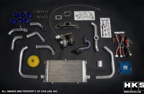 HKS Honda Fit Turbo Kit  MotorworldHype