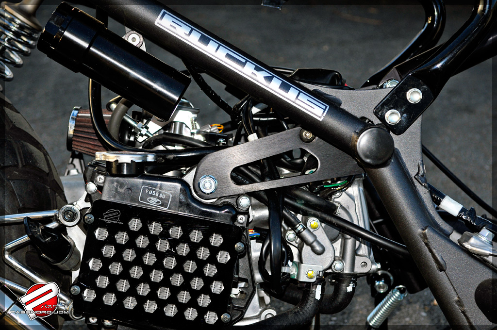 Password:JDM Honda Ruckus / Zoomer Billet Frame Extension Kit ...