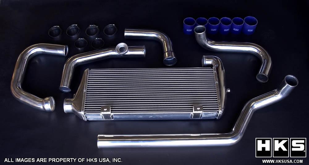 HKS Intercooler Kit For Acura RSX TypeS MotorworldHype - Acura rsx type s turbo kit