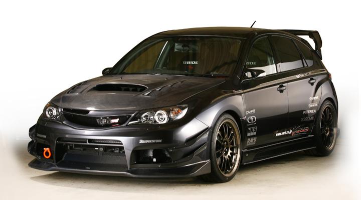 Subaru Wrx. Subaru WRX STi aero