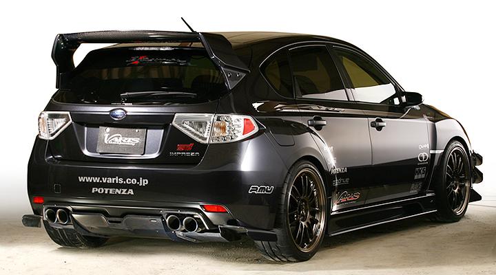 Subaru Wrx. Varis Aero For 2009 Subaru WRX
