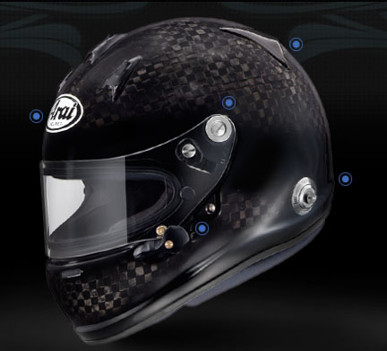 Arai Auto Racing Helmet on Finally Arai Has Released Their 2010 Line Of Auto Racing Helmets I Ve