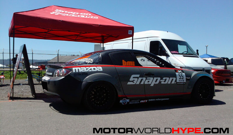 Bmi Racing 4 Rotor Rx 8 Sponsored By Snap On Tools