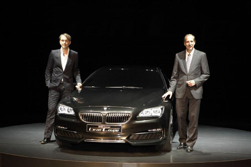 BMW Grand Coupe Concept To Be Produced As 6 Series CLS Fighter In 2012