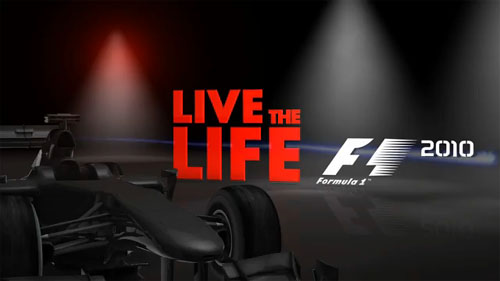 formula 1 2010 game. Included in F1 2010 will be a