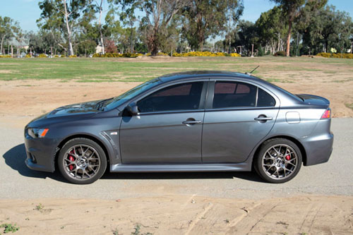 2010 Mitsubishi Evo X Mr Part 1 Superficial First Impressions