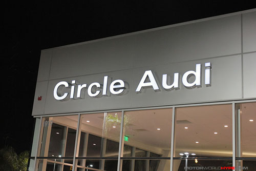 Hype Event Audi A Event CircleAudi MotorworldHype - Circle audi
