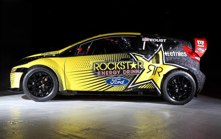 Hype News: Tanner Foust's 2011 Ford Fiesta Rally Cross Car Livery