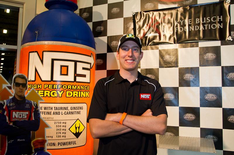... Event: NOS Energy Drink Kyle Busch Celebrity K1 Go Kart Challenge