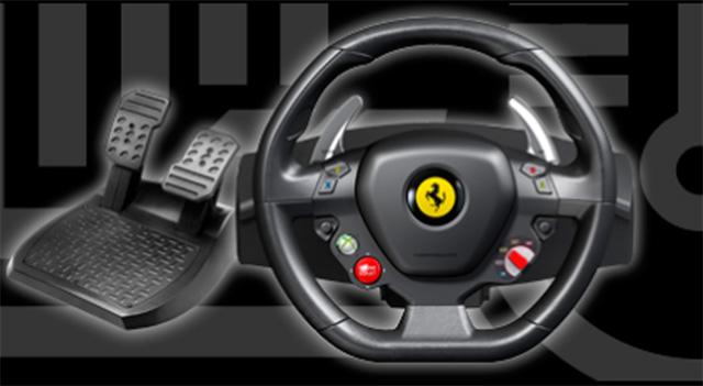 Thrustmaster Ferrari steering wheel for Xbox