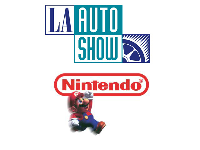 Nintendo at the 2011 LA Auto Show