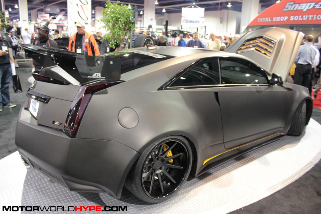 Sema2011 D3 Cadillac Ctsv Coupe 6