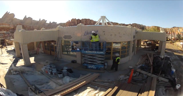 Hype Timelapse Video Watch Ramone S House Of Body Art Start To Come To Life At Disney California Adventure S Cars Land Motorworldhype