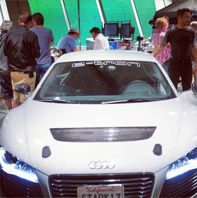 Movie Hype: Tony Stark AKA Iron Man Gets His Audi R8 Back
