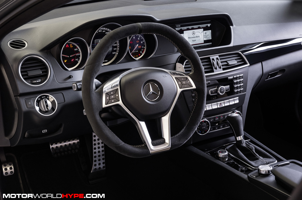 German Hype Mercedes Benz Gets Literal With The C63 Amg Edition