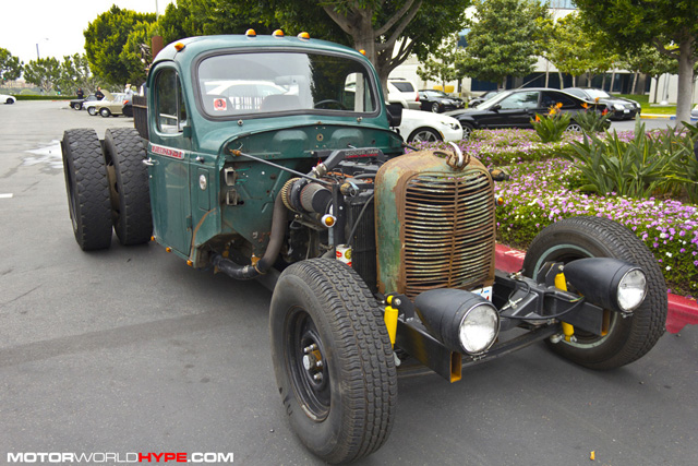 SPOTTED Awesome Metal Art Frankenstein Turbo Diesel Truck With