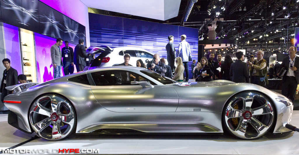 LA Auto Show Mercedes Benz Gives Center Stage To AMG Vision - Show me a car