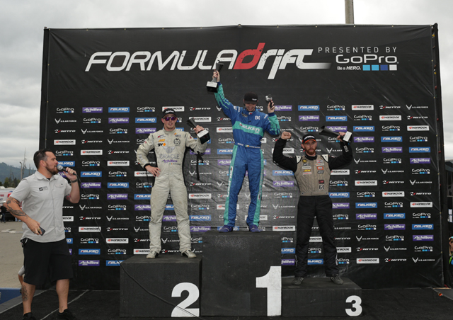 FormulaDrift2014_Seattle_Podium
