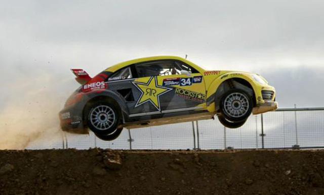 Tanner Foust's GRC VW Beetle