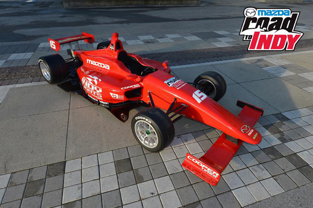 Mazda North American Operations Dallara Indy Lights