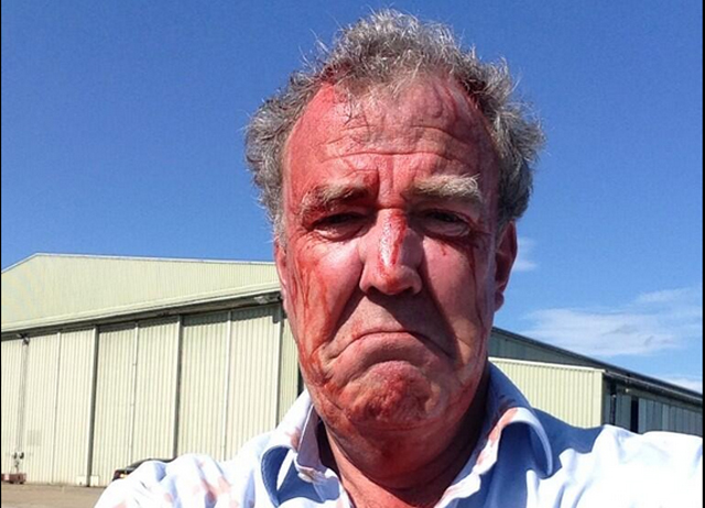 Jeremy Clarkson Fired from Top Gear by BBC on 3-25-15. Photo credit: Jeremy Clarkson