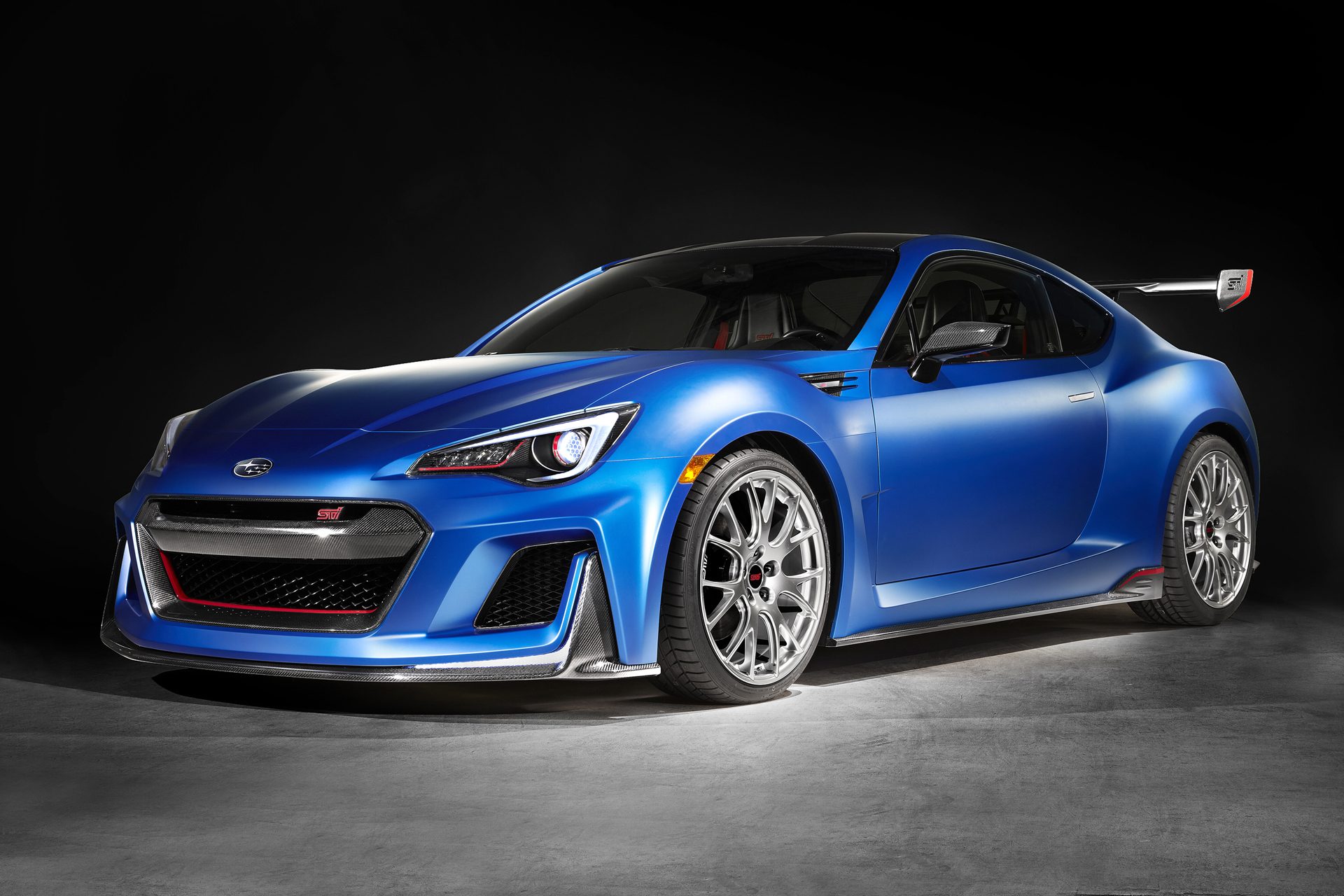 Hype Subaru Teases The Future Of Brz With Sti Concept At