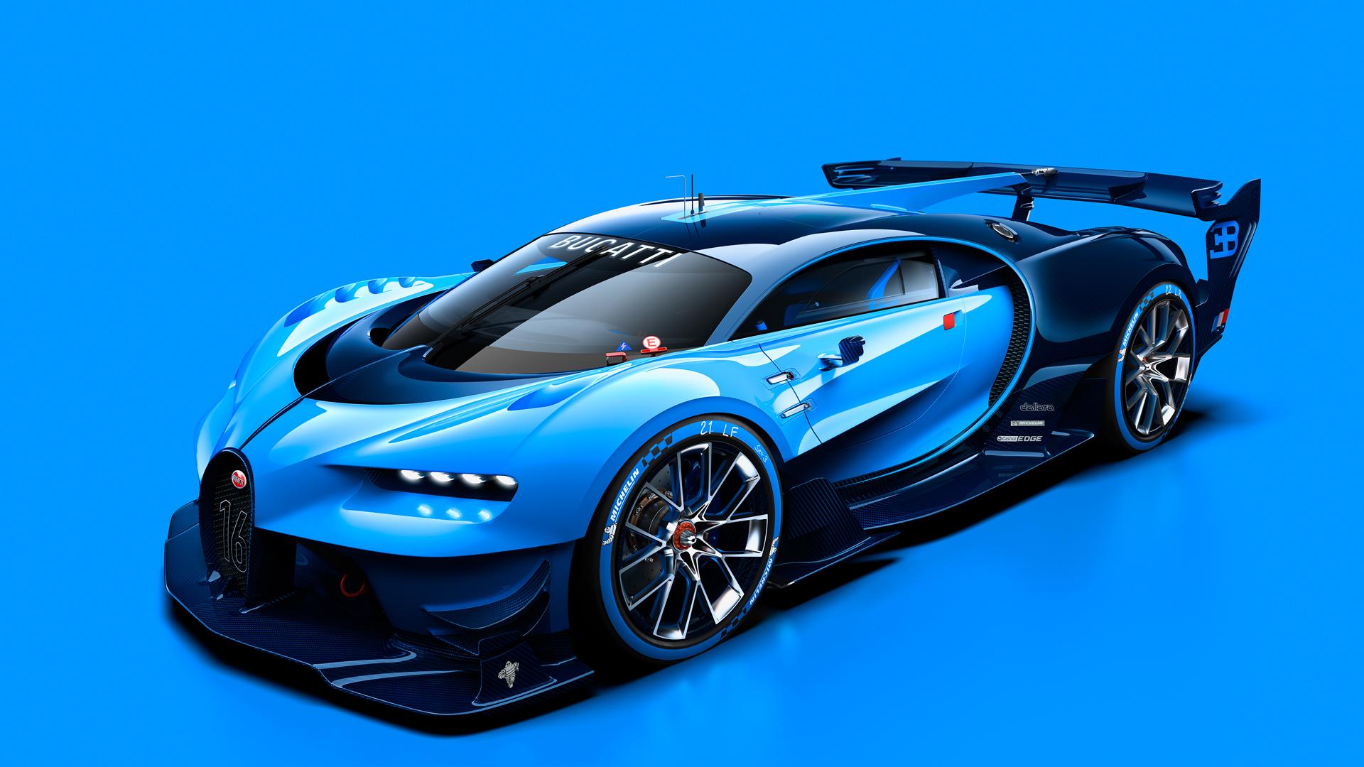 Bugatti Vision Gran Turismo concept car