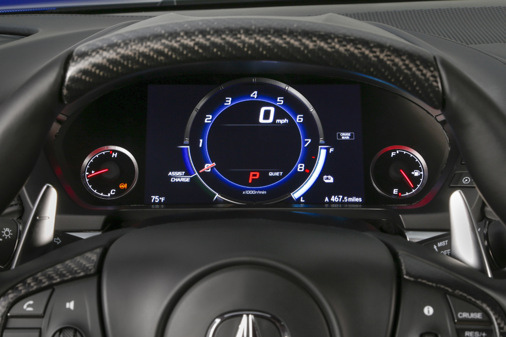 2017 Acura NSX - Quiet Mode.