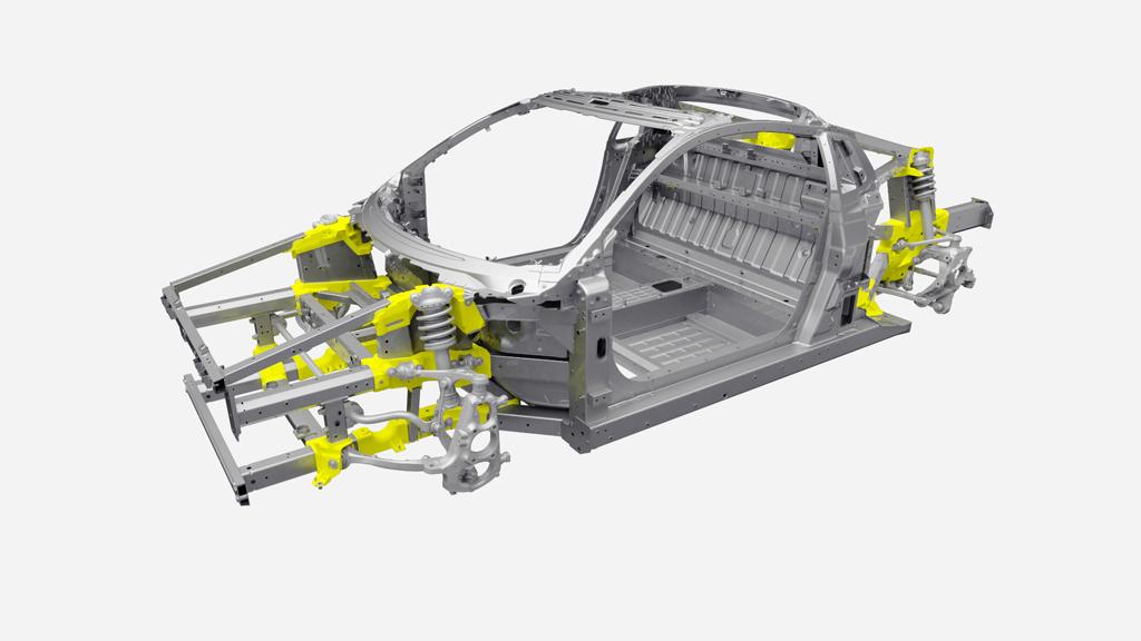 2017 Acura NSX - Castings & Suspension.