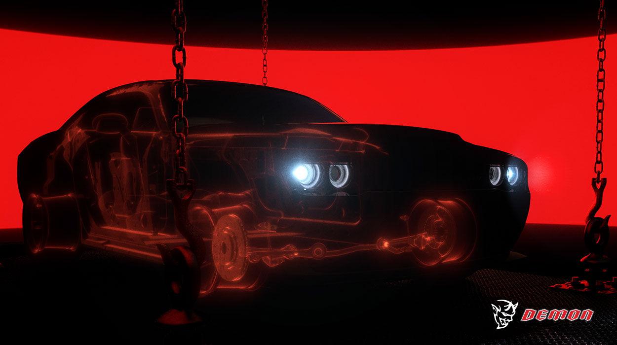 Dodge Demon Teaser 2