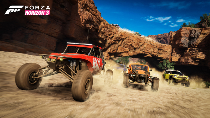 Forza Horizon 3 Gorge Buggies