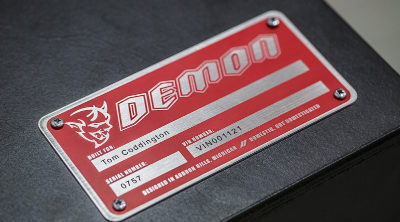Each Demon Crate is a personalized for its owner with a serializ