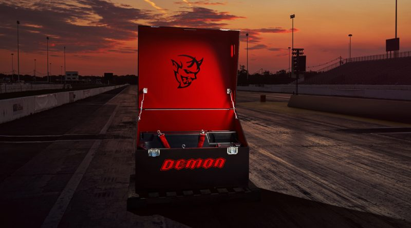 The Demon Crate holds components that maximize the 2018 Dodge Ch
