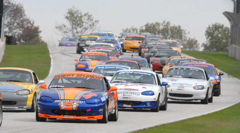 Record field in Spec Miata 2013 SCCA Runoffs