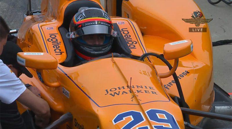 FernandoAlonso_Indy500_Test