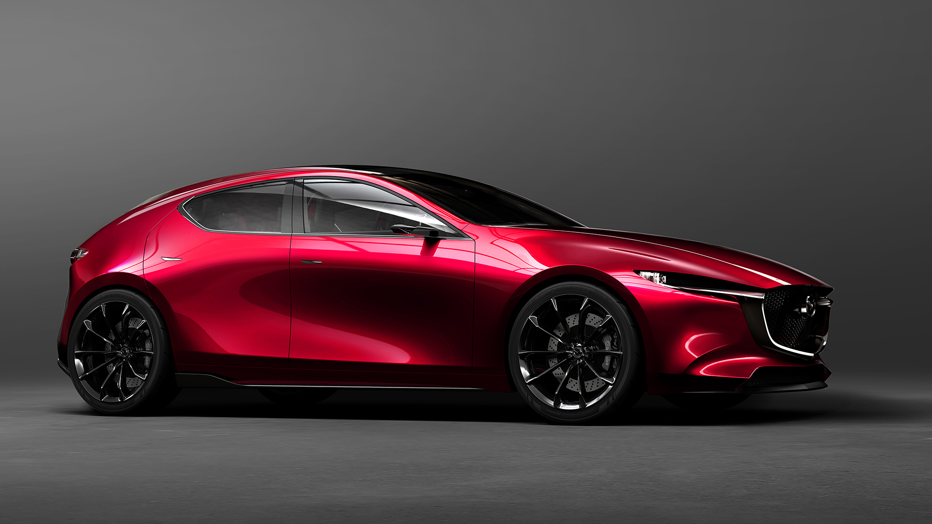 Mazda Reveals KAI CONCEPT and VISION COUPE Concept Cars