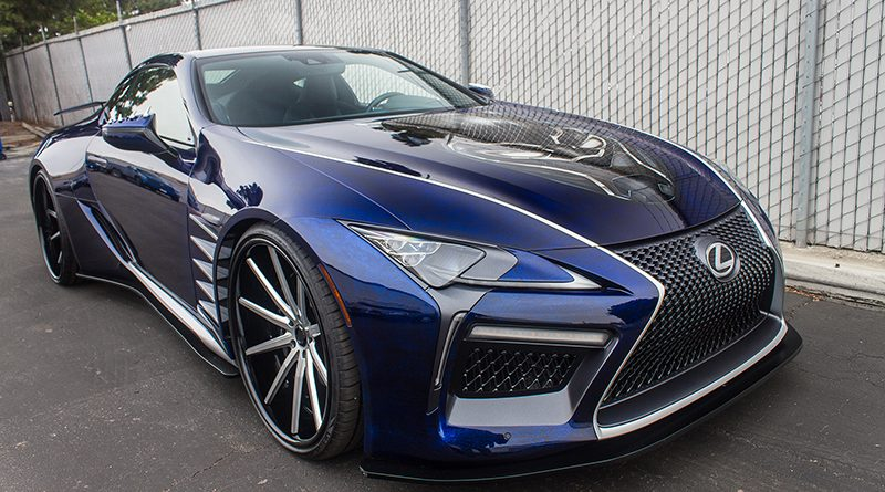Feature 2018 Black Panther Lexus Lc 500 Coupe Motorworldhype