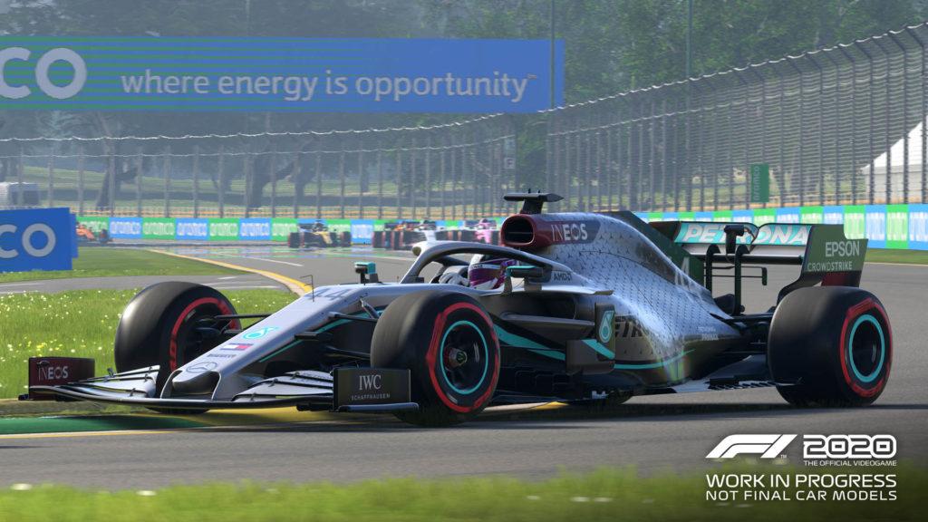 Codemasters F1 2020 screenshot