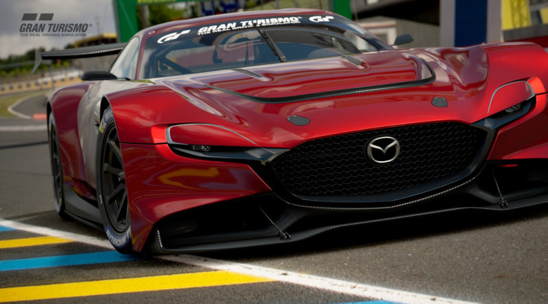 The Mazda RX-Vision GT3 as seen in Gran Turismo 7