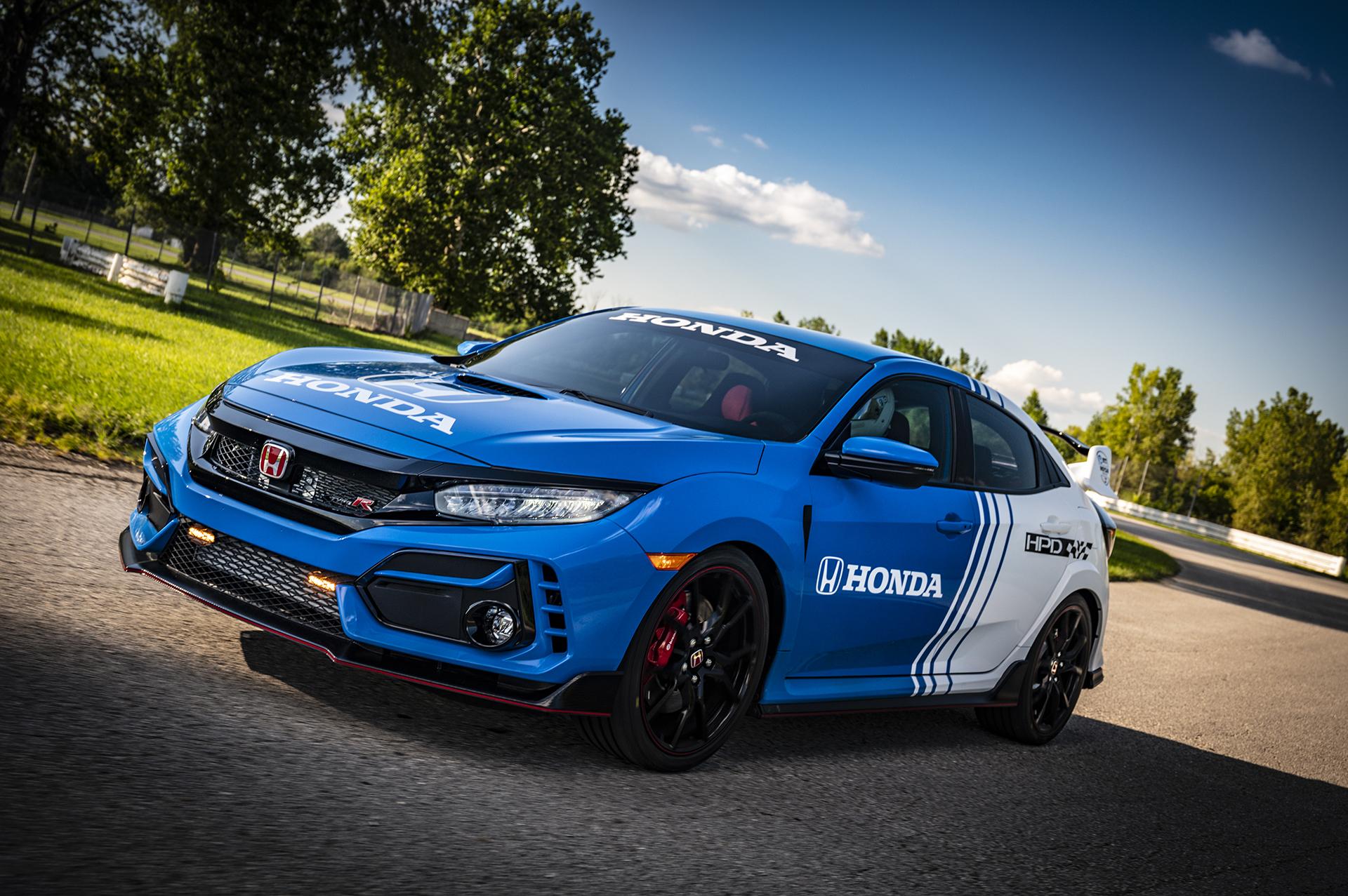 Honda Reveals 2020 Civic Type R Pace Car | MotorworldHype