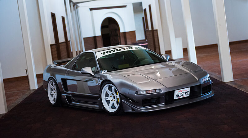 2001 Acura NSX with Marga Hills body kit