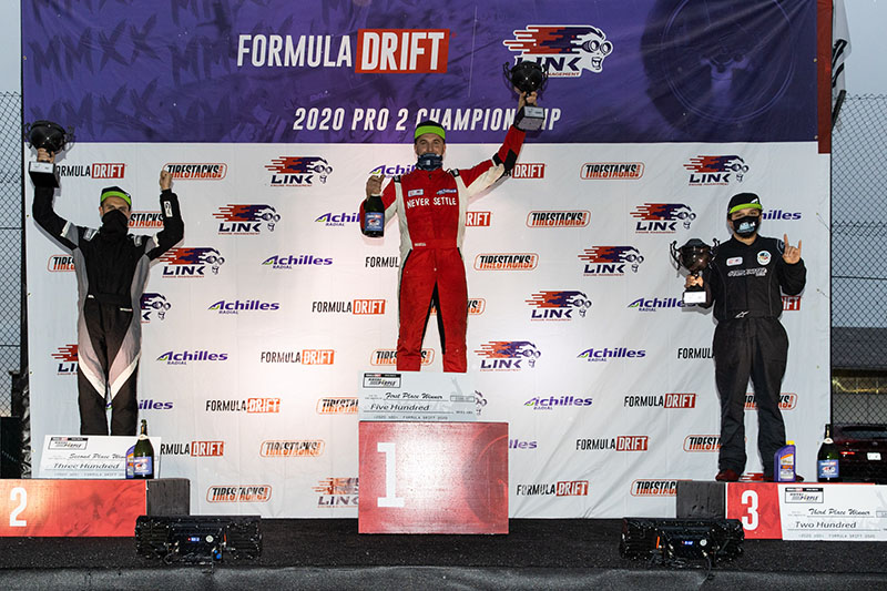 2020 Formula Drift Seattle Pro 2 Podium