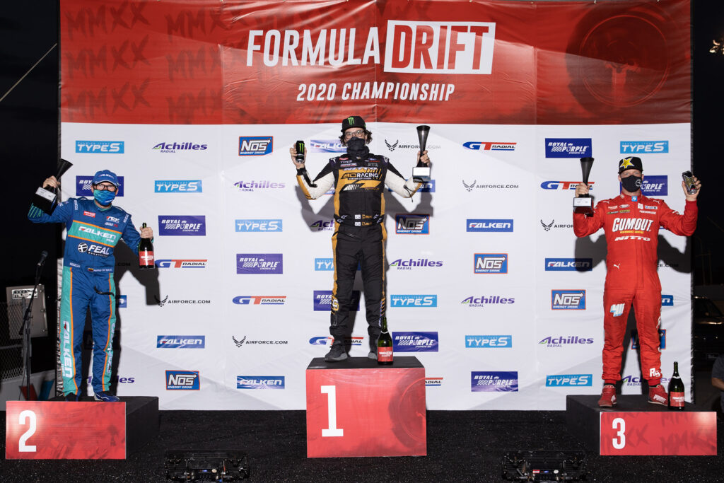 Formula Drift 2020 St Louis Round 2 Podium