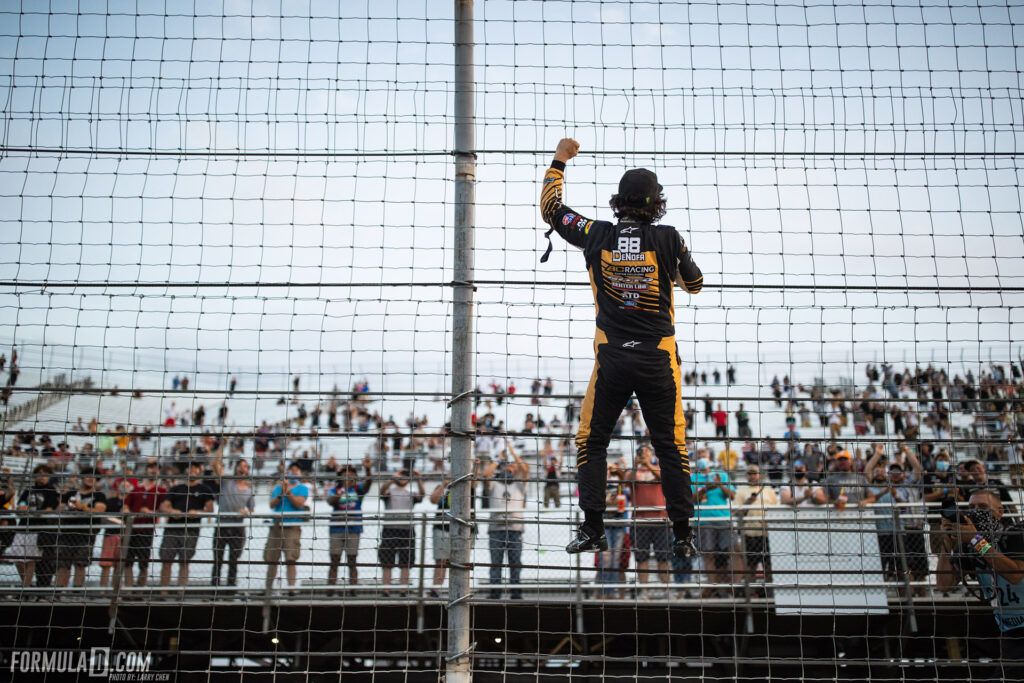 Formula Drift 2020 St Louis Round 2 Chelsea DeNofa wins