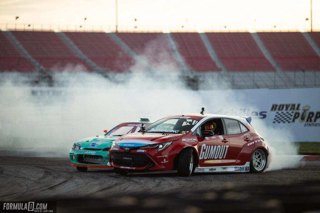 Formula Drift 2020 St Louis Round 2 Ryan Tuerck vs Odi Bakchis