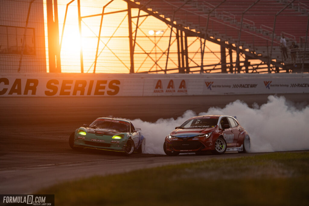Formula Drift 2020 St Louis Round 2 Ryan Tuerck vs Matt Field