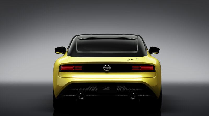 Nissan Z Proto rear view