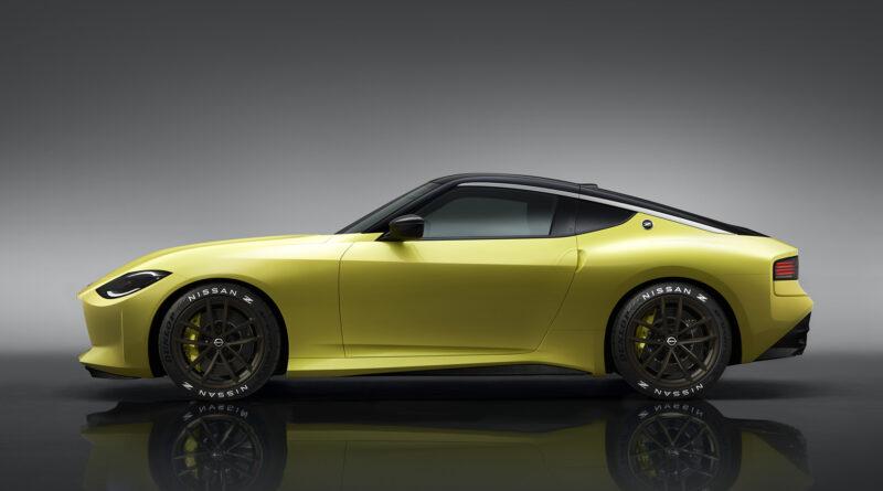 Nissan Z Proto side view