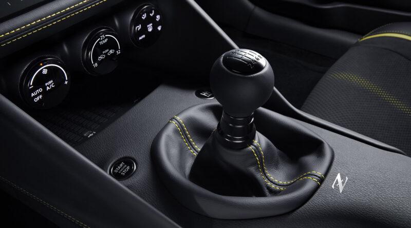 Nissan Z Proto manual transmission