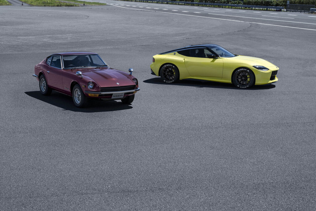 Nissan Z Proto and 240Z